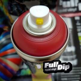 Full Dip matt Meggy piros spray (új)