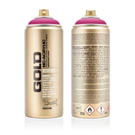 Montana akril matt spray 400ml Pink