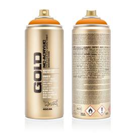 Montana akril matt spray 400ml Light narancs (új)