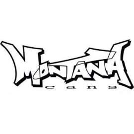 Montana akril matt spray 400ml Piros (új)