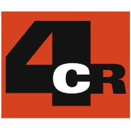 4CR 5400 Kőfelverődésvédő fekete/szürke 1L (új)
