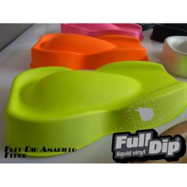 Full Dip matt Neon piros spray 400ml