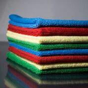 Mikroszálas törlőkendő (5db/csomag) több színben