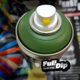 Full Dip matt Military Dark zöld spray