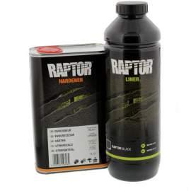 RAPTOR 2K platóvédő bevonat szett RAL színek