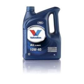 Valvoline All Climate 10W-40 motorolaj