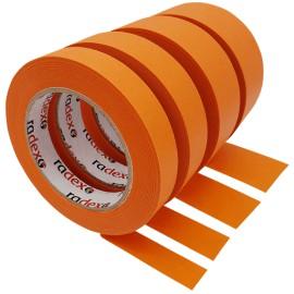 Maszkoló szalag impregnált 25mm Narancs