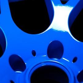 SUPERWRAP TARGA BLUE METÁL Fényes spray 400ml  (új)