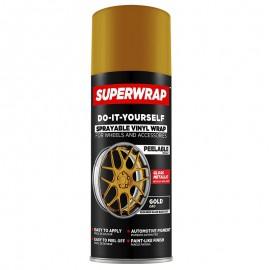 SUPERWRAP GOLD METÁL Fényes spray 400ml    (új)