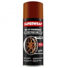 SUPERWRAP COPPER METÁL Fényes spray 400ml (új)